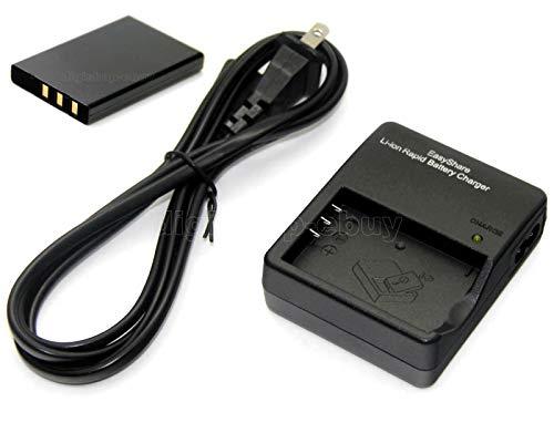 FidgetGear Li-ion Battery + Charger for EasyShare LS753 DX6490 DX7440 DX7590 DX7630 (Dx7440 Charger)