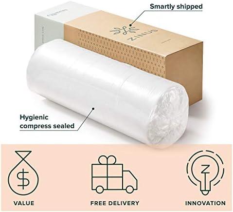 Zinus 10 Inch Gel-Infused Green Tea Memory Foam Mattress / Cooling Gel Foam / Pressure Relieving / CertiPUR-US Certified / Bed-in-a-Box, Full