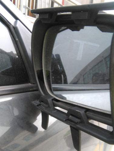 Universal Clip On Trailer Towing Side Mirror Extender Extension Truck SUV RV Car