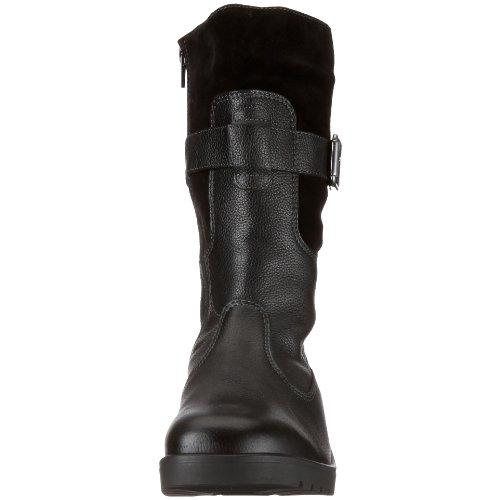 Ganter Ellen Stfl, Weite G, GORE TEX 0-205547-0100 - Botas de cuero para mujer Negro