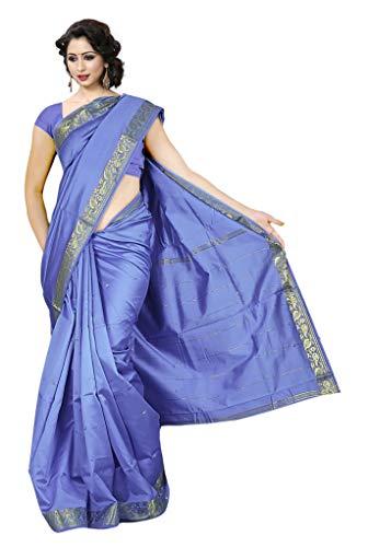 Silk Saree Traditional - KoC Indian Traditional Ethnic Women wear Art Silk Saree -Lavender