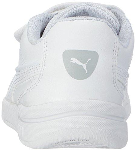 Puma Stepfleex FS SL V Kids - Zapatillas de gimnasia infantil white-white-white 11