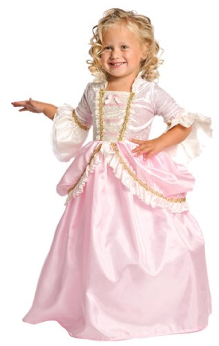 Little Adventures Pink Parisian Princess Dress Up Costume for Girls