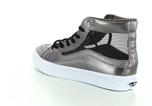 Thistle Cutout Unisex True Vans SK8 Purple White Mesh Metallic Hi Sneaker Slim xgdqf8wp