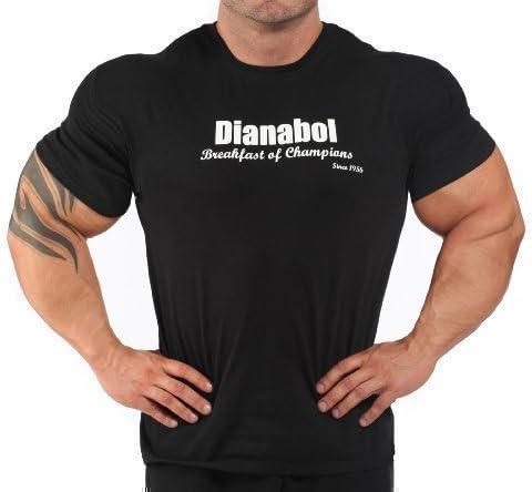 J-99 - Camiseta negra para hombre con marca de esteroides