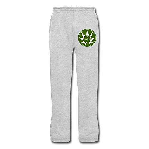 Show Time Men's Green Revolution Athletics Jogging Sweatpants Ash - Ray Gun Top Ban Sunglasses