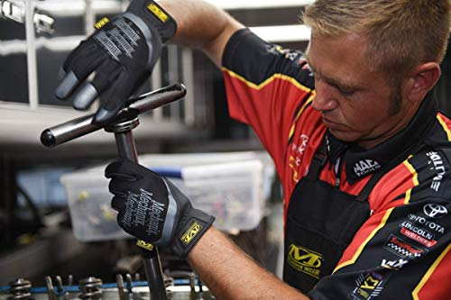 Mechanix Wear MFF-05-010 FastFit Work Gloves (Large, Black)
