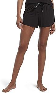Hue Womens Sleepwell with Temptech Boxer Pajama Sleep Short Pajama Bottom