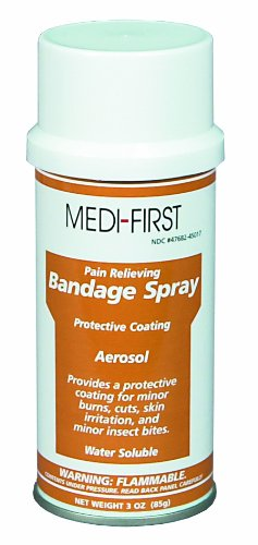(Medi-First 45017 Bandage Spray, 3 Ounces)