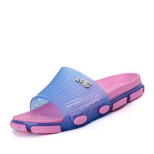 Punta la de de Deslizadores la para Tapa PVC Suela del Anchos los de Purple Exterior Abierta Unisex la Amante de Zapatos del UxwZOaqIa
