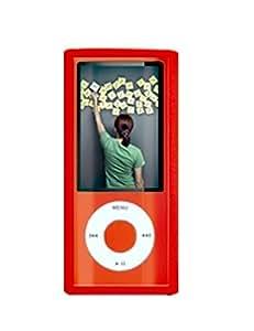 PURO Crystal Sleeve iPod Nano 5G - fundas para mp3/mp4 (42 x 10 x 92 mm) Rojo