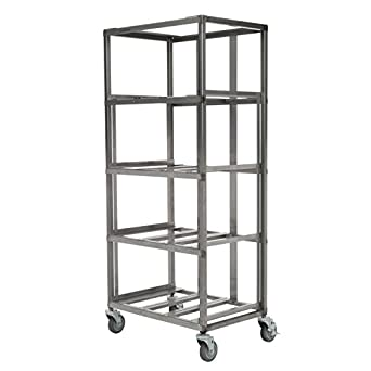 Amazon.com: Marlin Acero Industrial 4-tier Acero Inoxidable ...