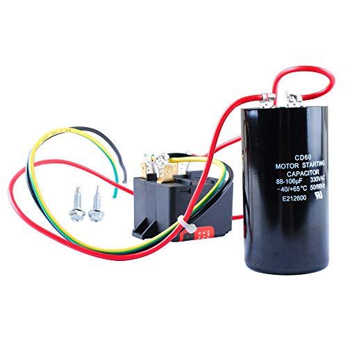 AC Hard Start Capacitor for 5-2-1 Csur 1, Compressor Saver for 1-2-3 Tons, Hvac Hard Start Kit
