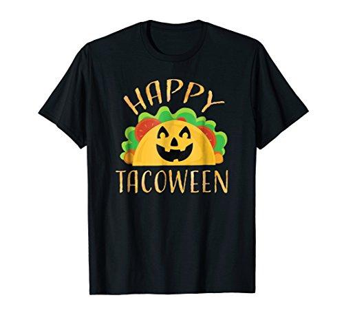 Happy Tacoween Taco Food Halloween Pun Shirts Premium -