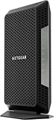 NETGEAR Nighthawk Multi-Gig speed Cable Modem for XFINITY Internet & voice delivers Gigabit speed Cable Internet and the best call clarity. This first-to-market DOCSIS 3.1 cable Modem with voice supports all of today's Internet service pl...