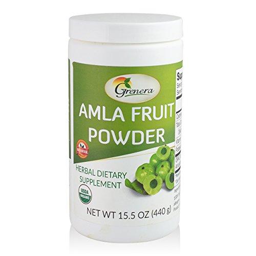 Organic Amla Powder 15.5 Ounce - USDA Organic, Kosher, Vegan Certified
