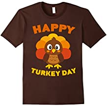 Happy Turkey Day T-Shirt Funny Thanksgiving Gift Shirt