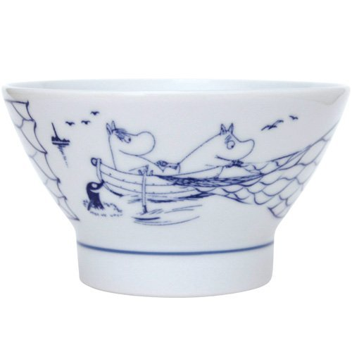 amabro Amaburo Moomin Moomin SOMETSUKE Sometsuke bowl Fishing 0834