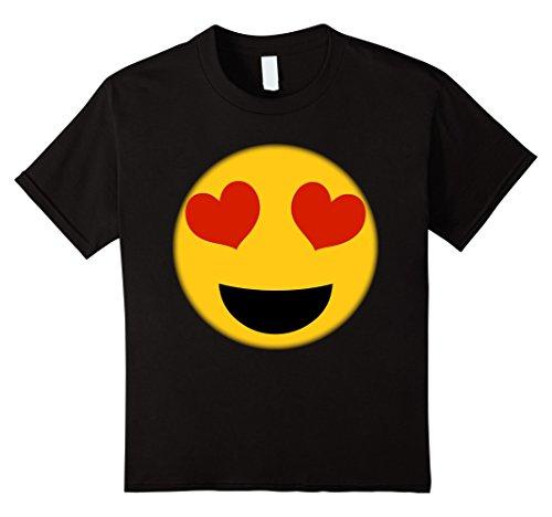 Kids  (Heart Eyes Emoji Costume)