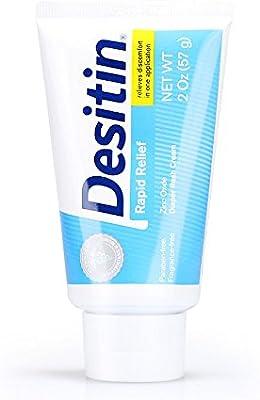 Diaper Rash Treatment Desitin® Maximum Strength 4 oz Tube Cream Scented 3 Pack