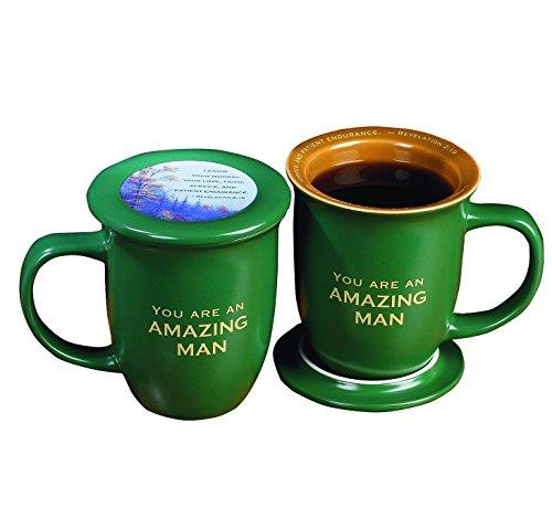 Abbey Gift Amazing Man Coaster Mug