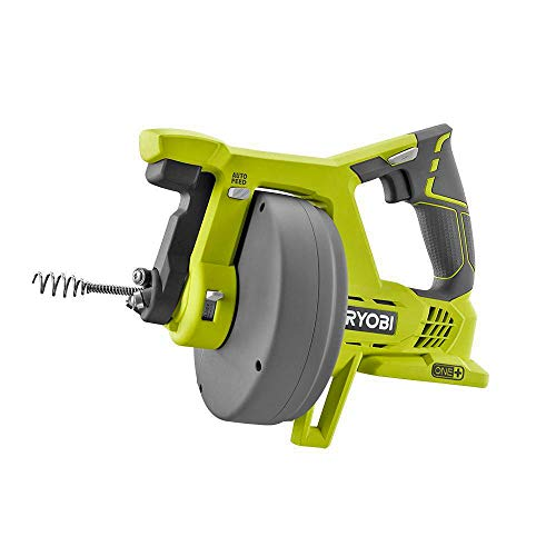 Ryobi P4001 One+ 18V Lithium Ion All-In-One 25 Foot Drain Au
