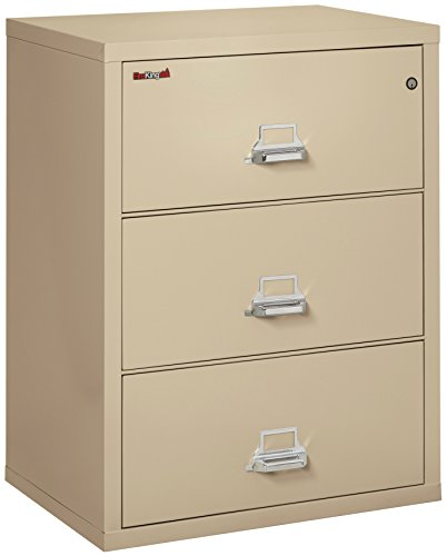 (FireKing 3-3122-CPA Fireproof Lateral File Cabinet 40.25