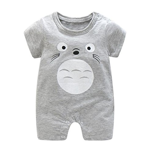 Gouache Summer Baby Boy Bodysuits Pp Cartoon Cute Overalls for Infants Baby Jumpsuit