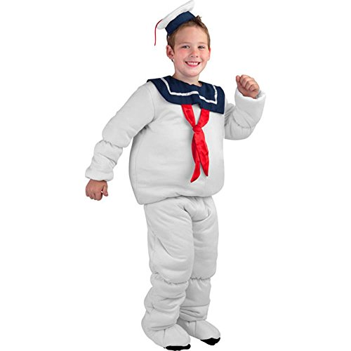 Kids Stay Puft Costumes (Childs Marshmallow Sailor Ghost Costume)