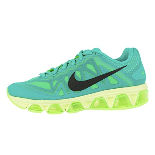 Nike Dames Air Max Rugwind 7 Loopschoenen Licht Retro Black Lime 683635 400