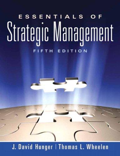 Essentials of Strategic Management (5th Edition)