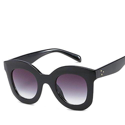 Mujeres Señora Chao Y Fortr Sol Fresca Estados Grande Con Caja Para Home Gafas Personas De Personalidad Hombre Unidos Moda Europa xq1RfY