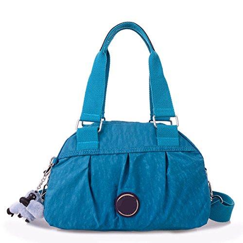 Frauen Jahrgang Leinwand Schulter Aktentasche Messenger Handtasche Side Die Universelle Einsatz Tasche ,G-30cm*14cm*20cm