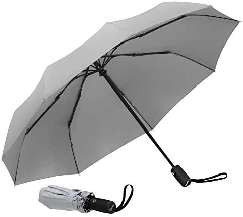 Repel Windproof Travel Umbrella with Teflon Coating (Multiple Colors Available)