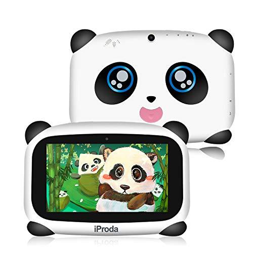 iProda T7044NP 4000MAH Kids Tablet 7 inch, Android 9.0 IPS Display 2GB 16GB ROM Storage,Parental Control,Google Play Pre…
