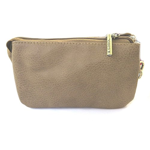 Touch' 3 'gabol'turchese Scomparti Bag Beige 'french ZqxYTx