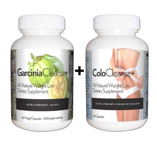 La perte finale Poids Solution- pur Garcinia Cambogia Extrait 1000 mg par jour + All Natural Herbal Colon Cleanse. Ce sont des pilules amaigrissantes qui fonctionnent rapide! Perdre du poids, aplatir l'estomac, et couper la ligne de taille. (Deux bouteill