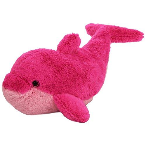 Wild Republic Europe 30cm Cuddlekins Vibes Dolphin Plush Toy (pink)