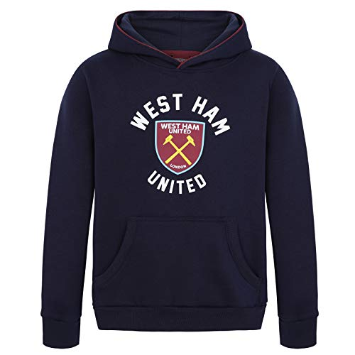 West Ham United Fc Official Gift Boys Graphic Fleece Hoody 12-13 Years XLB (West Ham Hoodie)