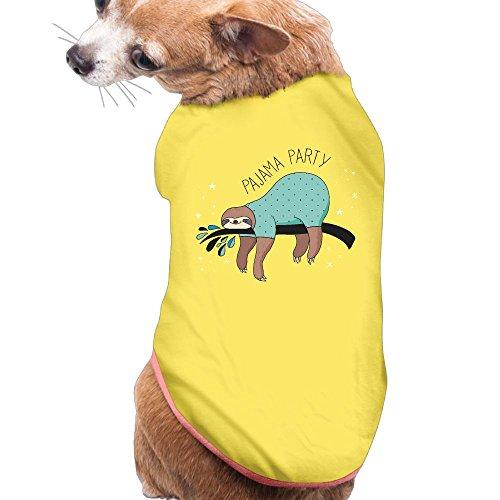 Sloth Lovers Party New Fashion CuteCat Tee Shirts Dress Plain Sleeveless Costumes Best Holiday Gift S (Walmart Cat Ears Halloween)
