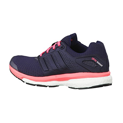 Adidas flash S15 Red Met Night silver Femme Running Supernova Glide 7 Navy Boost rxwqrF7gv