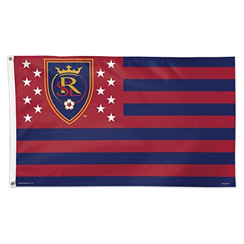 WinCraft SOCCER Real Salt Lake 06914115 Deluxe Flag, 3' x 5' by WinCraft