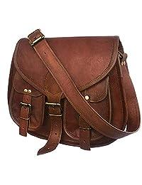 VC 14 Inch Leather Purse Women Shoulder Bag Crossbody Satchel Ladies Tote Travel Purse Genuine Leather