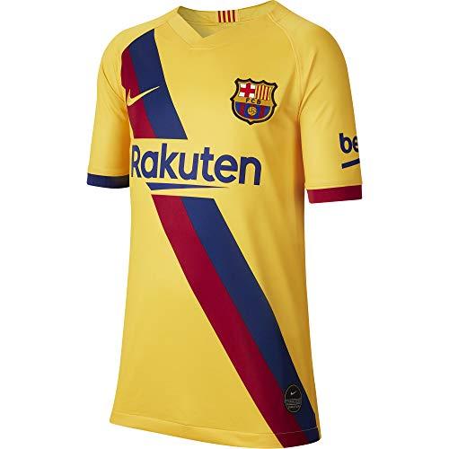 Nike FC Barcelona 2019/20 Stadium Soccer Youth Away Jersey 2019-20 (Kids) (XL-Youth)