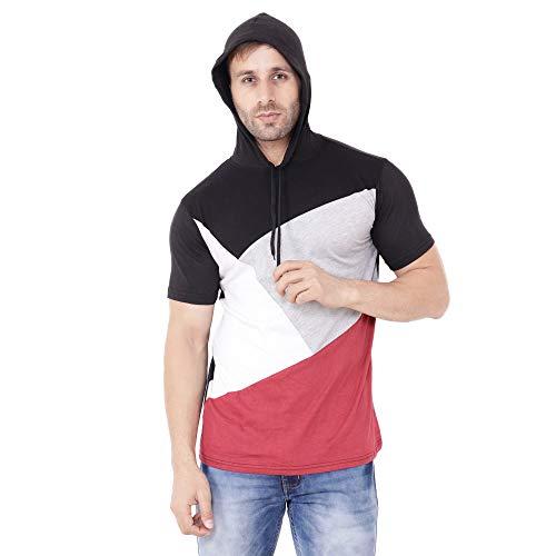 Geum Men's Cotton Hooded T Shirt