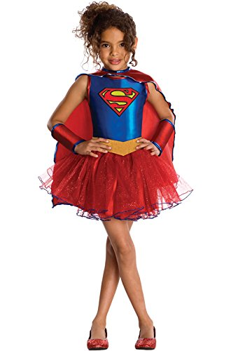 Justice League Child's Supergirl Tutu Dress - Toddler (Supergirl Halloween)
