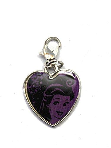Heart Belle Charm (Disney's Beauty and the Beast Princess Belle Clip-On Heart Charm)