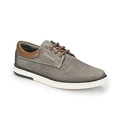 Dockers 224942, Mens Moda Ayakkabılar, Gri (Gri 77Z), 40 Eu