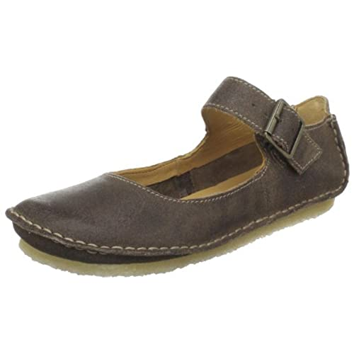 Clarks Women's Faraway Fell Mary Jane Flat,Taupe Distressed,8.5 M US best