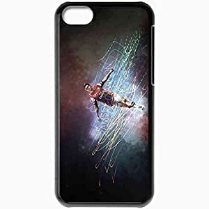 Personalized iphone 5 C Cell Phone Case/Cover Skin 2013 Creative Aaron Ramsey negro
